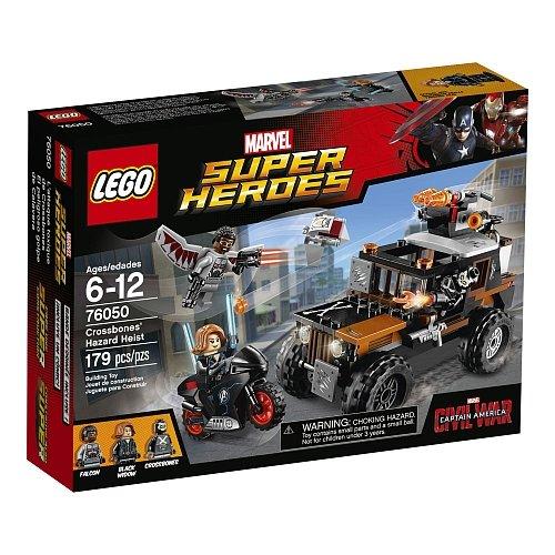 Lego Super Heroes Marvel Crossbones' Hazard Heist 76050