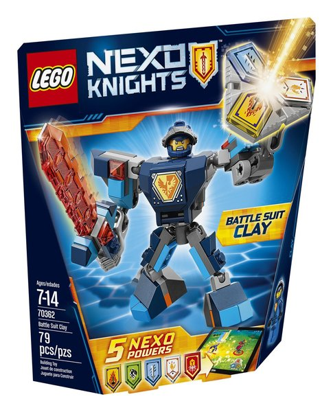 Lego Nexo Knights - Battle Suit Clay 70362