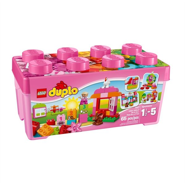 Lego Duplo Pink Creative Box Of Fun 10571