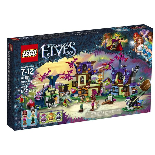 Lego Elves - Magic Rescue From The Goblin Village 41185