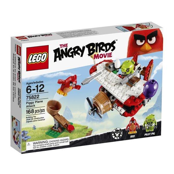 Lego Angry Birds Piggy Plane Attack