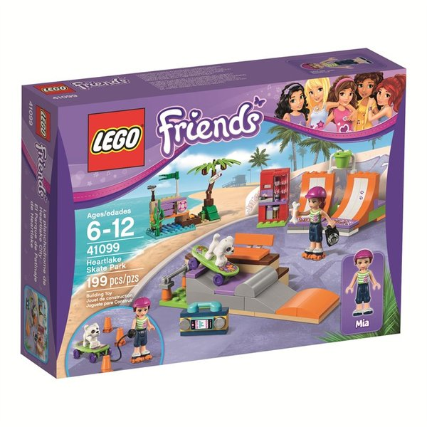 Lego Friends Heartlake Skate Park 41099