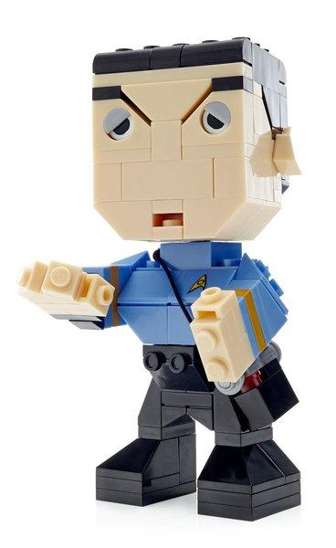 Mega Bloks Kubros - Star Trek Spock Buildable Figure