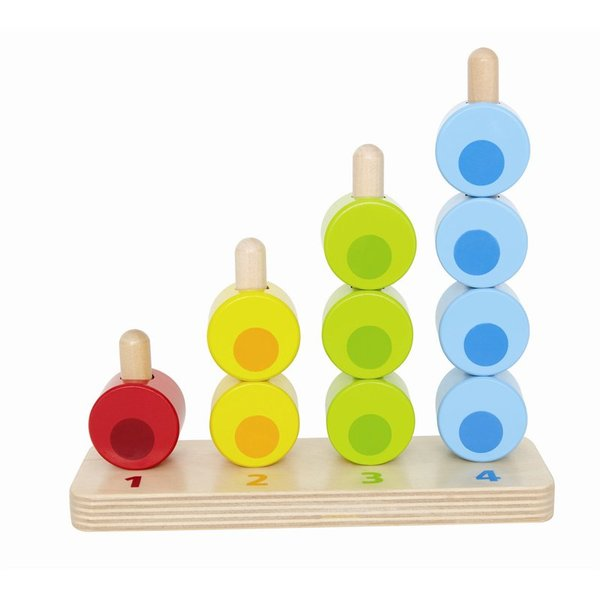 Hape Counting Stacker (for ages 12 months and up)