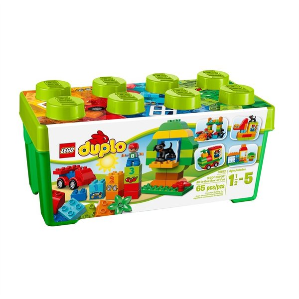 Lego Duplo Green All In One Fun Box Gift Set 10572