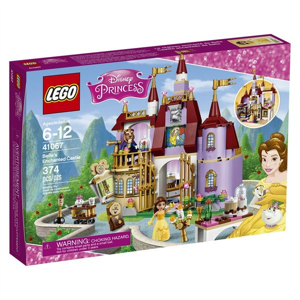 Lego Disney Belle's Enchanted Castle 41067
