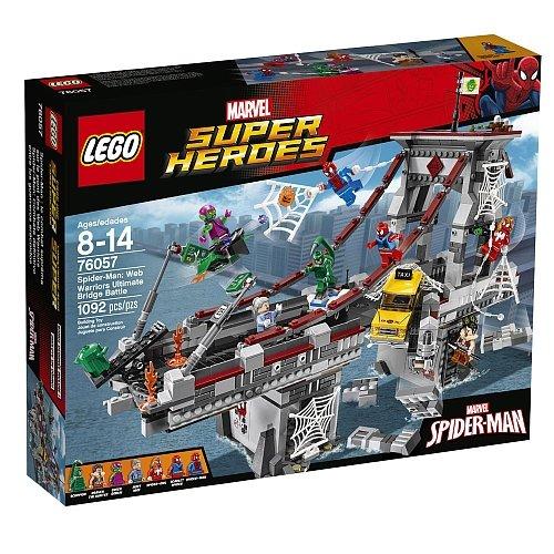 Lego Super Heroes - Spider-Man Web Warriors Ultimate Bridge 76057