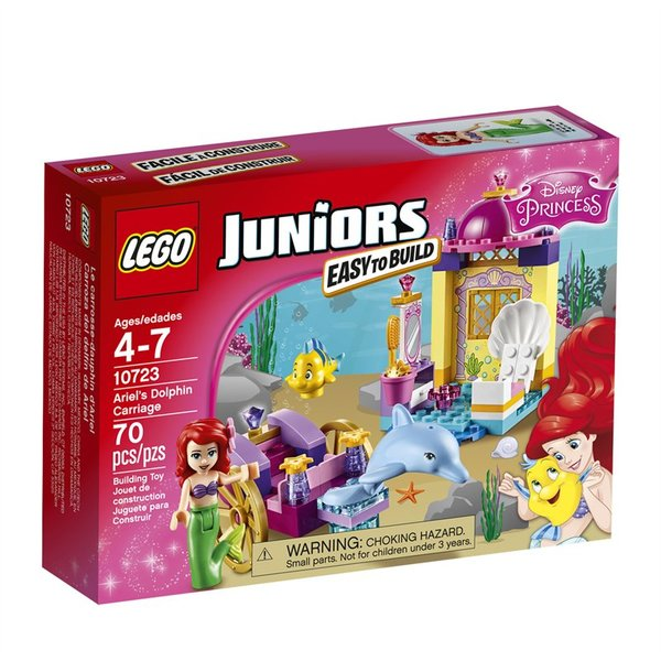 Lego Junior's Easy To Build Disney Ariel's Dolphin Carriage