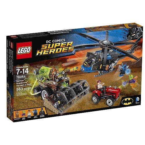 Lego Super Heroes - Batman Scarecrow Harvest Of Fear 76054