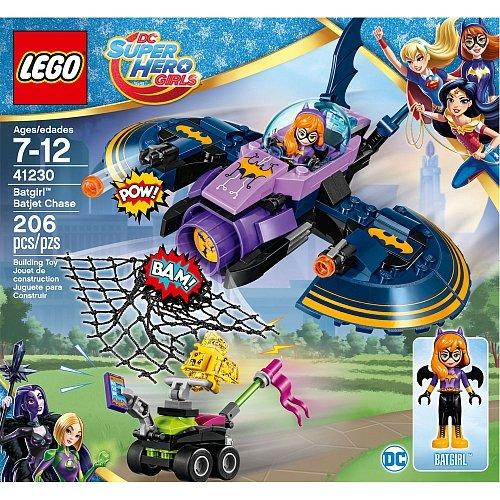 Lego DC Super Hero Girls Batgirl Batjet Chase 41230