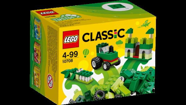 Lego Classic - Green Creativity Box 10708