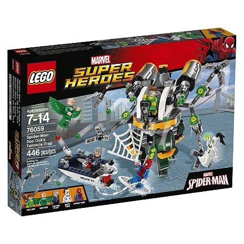 Lego Super Heroes - Spiderman: Doc Ock's Tentacle Trap 76059