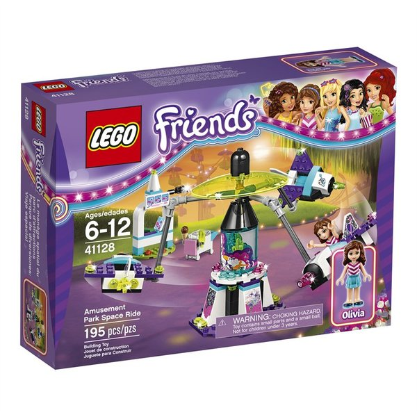 Lego Friends Amusement Park Roller Coaster Set 41130