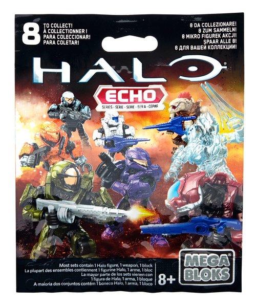 Mega Bloks Halo Micro Action Figure Echo Series Mystery Pack