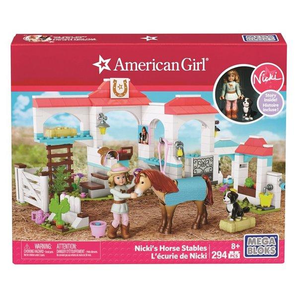 Mega Bloks American Girl - Nicki's Horse Stable