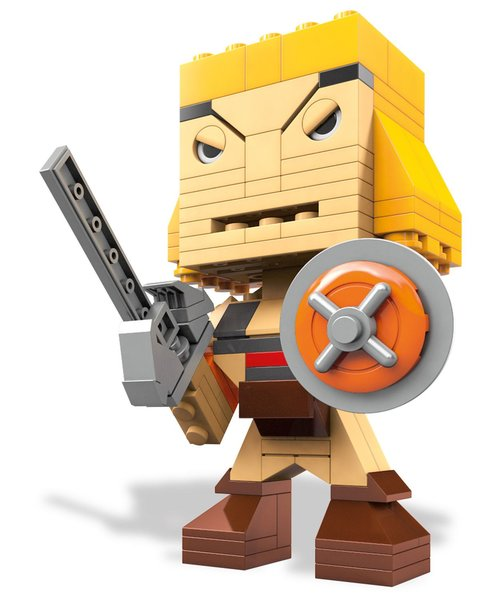 Mega Bloks Kubros - Masters Of The Universe He-Man Buildable Figure