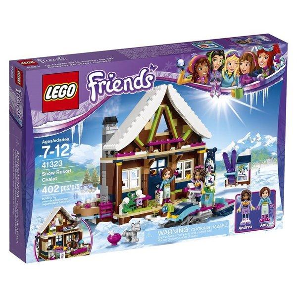 Lego Friends Snow Resort Chalet 41323