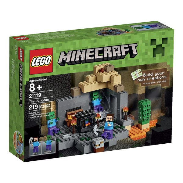 Lego Minecraft - The Dungeon 21119