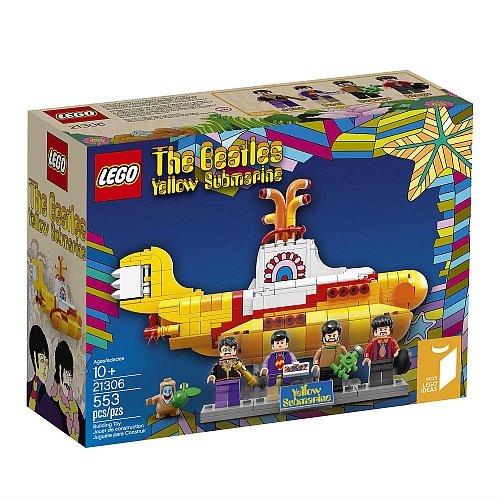 Lego Ideas - The Beatles Yellow Submarine 21306