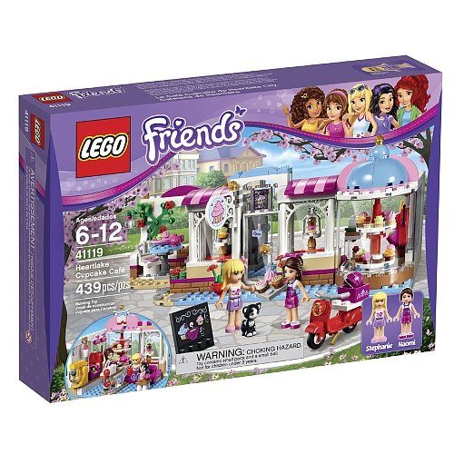 Lego Friends - Heartlake Cupcake Cafe 41119