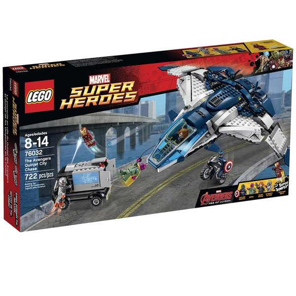 Lego Super Heroes - The Avengers Quinjet City Chase 76032