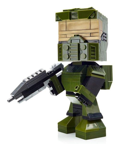 Mega Bloks Kubros - Halo Master Chief Buildable Figure