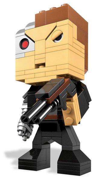 Mega Bloks Kubros - Terminator Genysis Arnold Buildable Figure