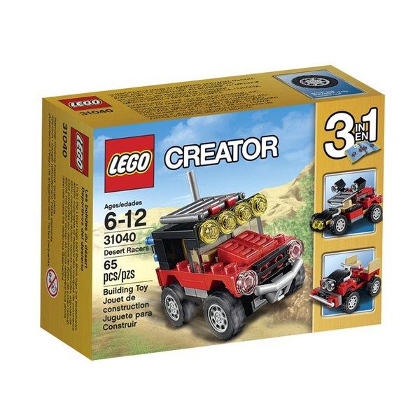 Lego Creator 3-In-1 Desert Racers 31040