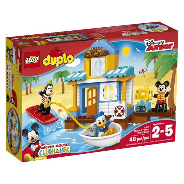 Lego Duplo Mickey And Friends Beach House 10827