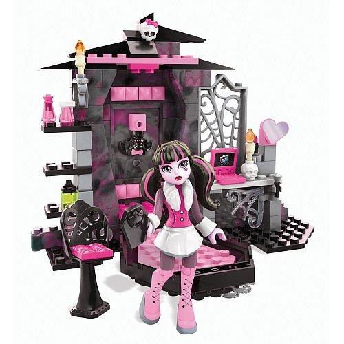 Mega Bloks Monster High Draculaura Vamptastic Room