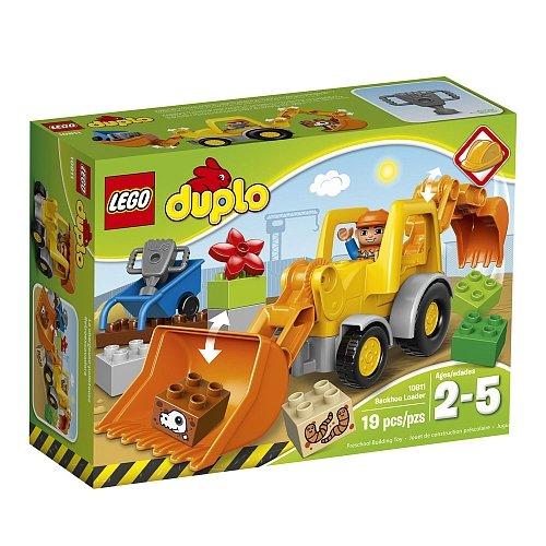 Lego Duplo - Backhoe Loader 10811