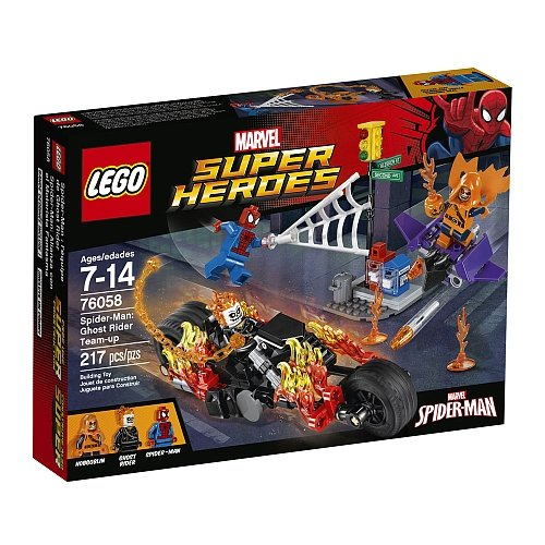 Lego Super Heroes - Spiderman Ghost Rider Team-Up 76058
