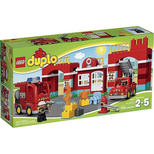 Lego Duplo - Town Fire Station 10594