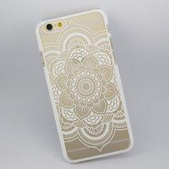 Boho Chic Mandala White iPhone 6/s Case