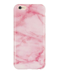 Pink Marble Silicone Shock Proof iPhone 6/6s Case
