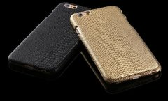 Snake Textured Skin iPhone 6/s Case Gold