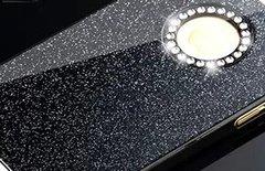 Glitter Bling Black iPhone 6/s Case