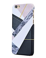 Luxury Geometric Print Marble iPhone 6/6s Hard Back Case