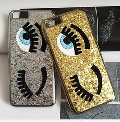 Glitter Wink iPhone 5/s 6/s/ Plus Case
