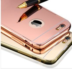 Rose Gold Mirrored iPhone Case