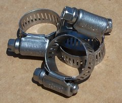 #8 Worm Drive #300 Marine Grade Series Stainless Steel Hose Clamp