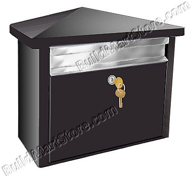 Mail House Residential Wall Mounted Mailbox Buildmart Store