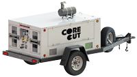 CB80CT Trailer Mounted Diesel Fuel Hydraulic Power Unit
