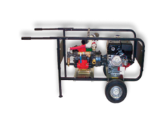 Triplex Piston Hydrostatic Test Pump