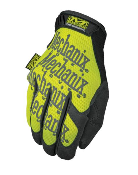 Mechanix Wear - Hi-Viz Original Gloves - Fluorescent Yellow