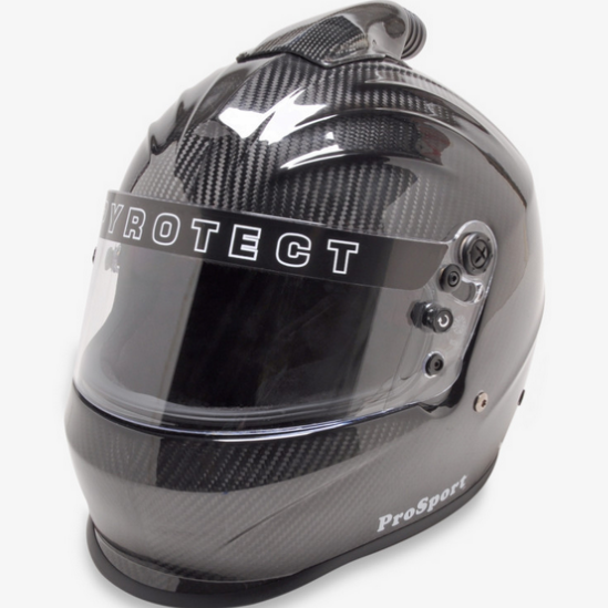 Pyrotect Pro Sport Helmet - Full Face Duckbill Top Air Carbon SA2015