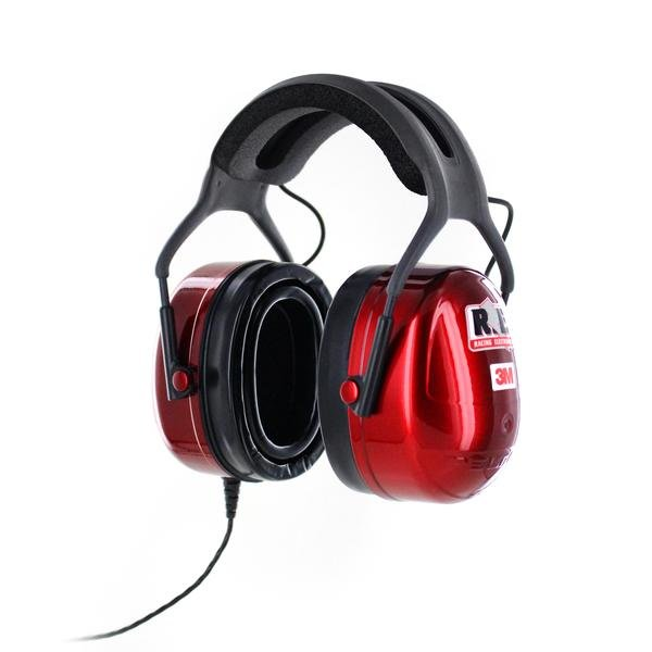 3M Racing Electronics Platinum LISTEN ONLY Scanner Headset