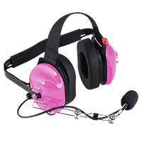 Hot Pink Headset
