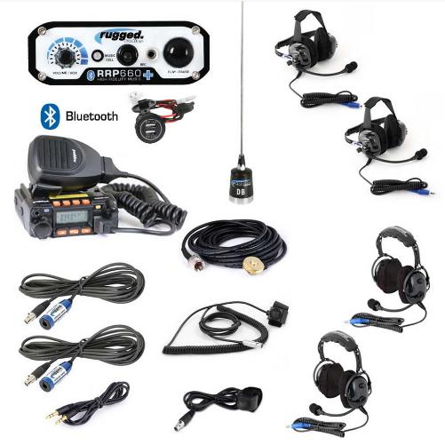 RRP660 PLUS 2-Place Intercom with 25 Watt Radio and BTU/OTU Headsets
