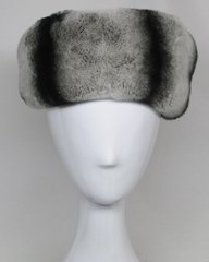 Headband - Genuine Chinchilla Rex Fur Headband
